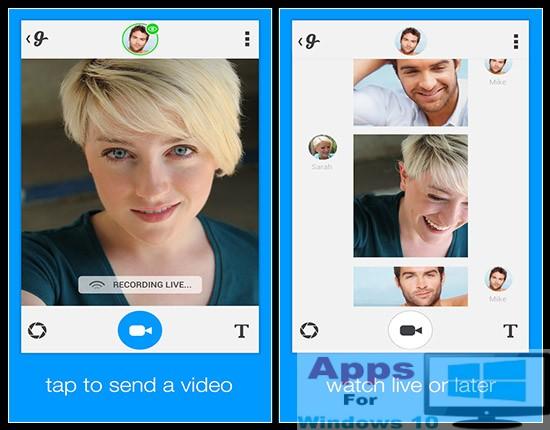 Glide – Live Video Messenger for PC Windows 10 & Mac