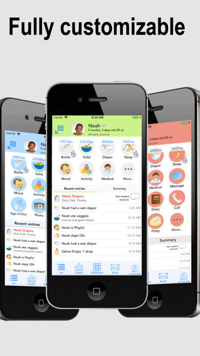 Baby Connect (Activity Log) iPhone App - App Store Apps
