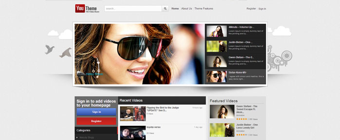 Why to Create a Video-sharing Website with Joomla Video Template - how to create a website template