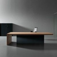 Kyo Olmo Executive Desk | Custom Made Desks | Apres Furnitue