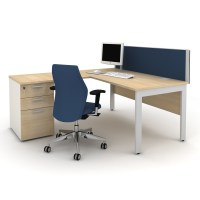Qore Office Desks | Tangent Office Furniture | Apres Furniture