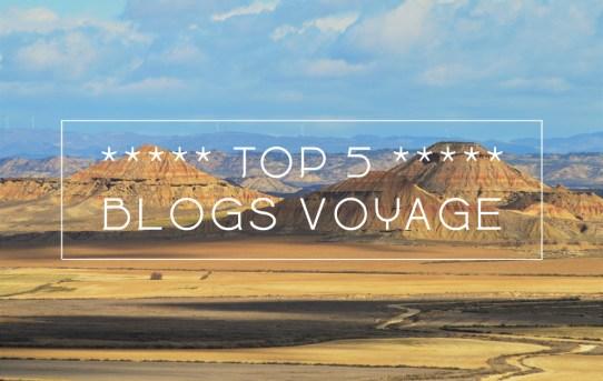 Top 5 blogs voyage