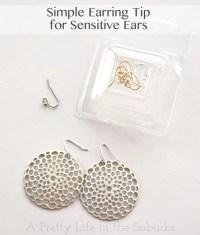 EARRINGS FOR SENSITIVE EARS - Pastal Names