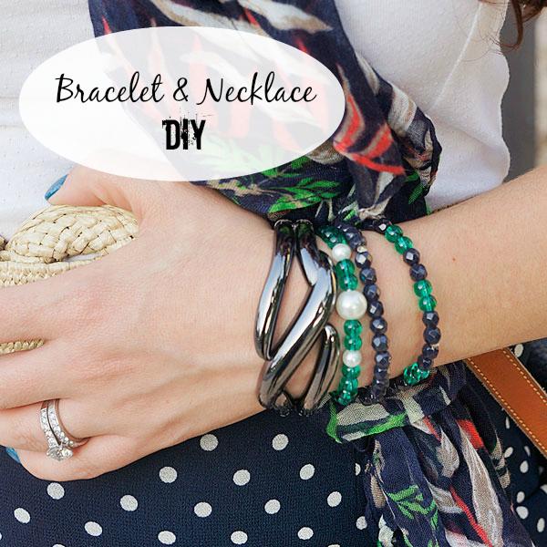 Bracelet and Necklace DIY