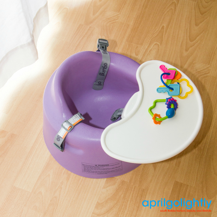 Bumbo Floor Seat and Tray in Purple
