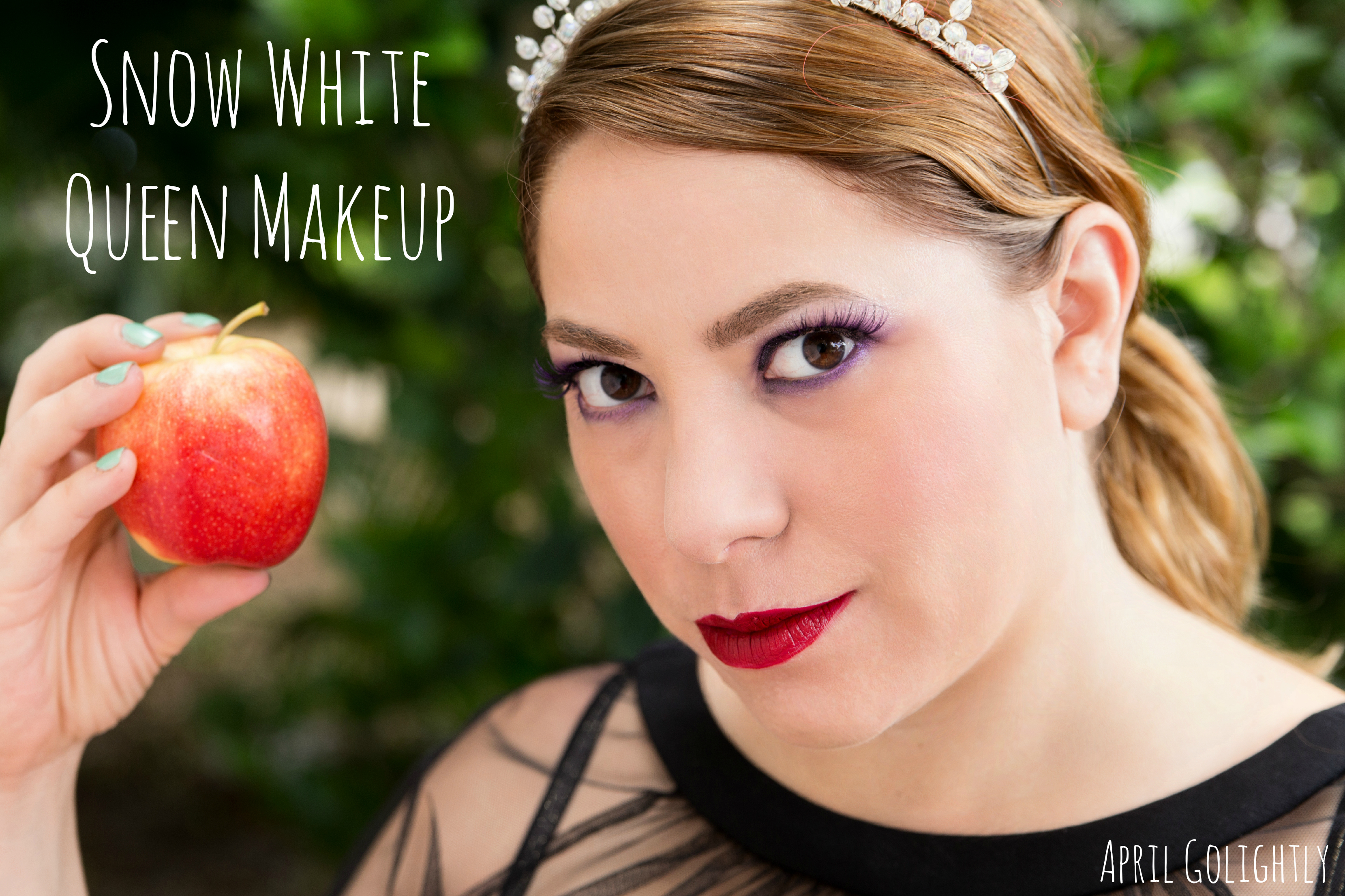 Snow White Queen Makeup u0026 Makeup Remover Wipes - April Golightly