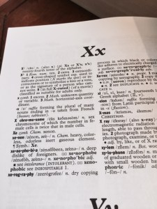 X is for . . . 2015 A to Z Challenge -- April J. Moore