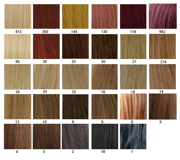 Hair Color chart - AprilLaceWigs - hair color chart