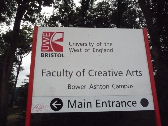 The conference exhibitions were at the Bower Ashton Campus, University of Western England