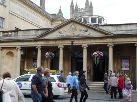 Bath is named for its baths, natch, Roman, Georgian and contempoary, we enjoyed all three.
