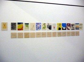"""Surimono International"" 13 artists combined woodcut and poetry"