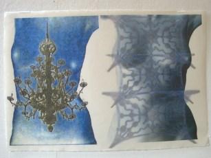 three 2-torso prints