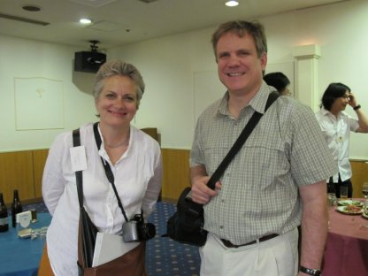 Mary Brodbeck and Christopher Wright (US)
