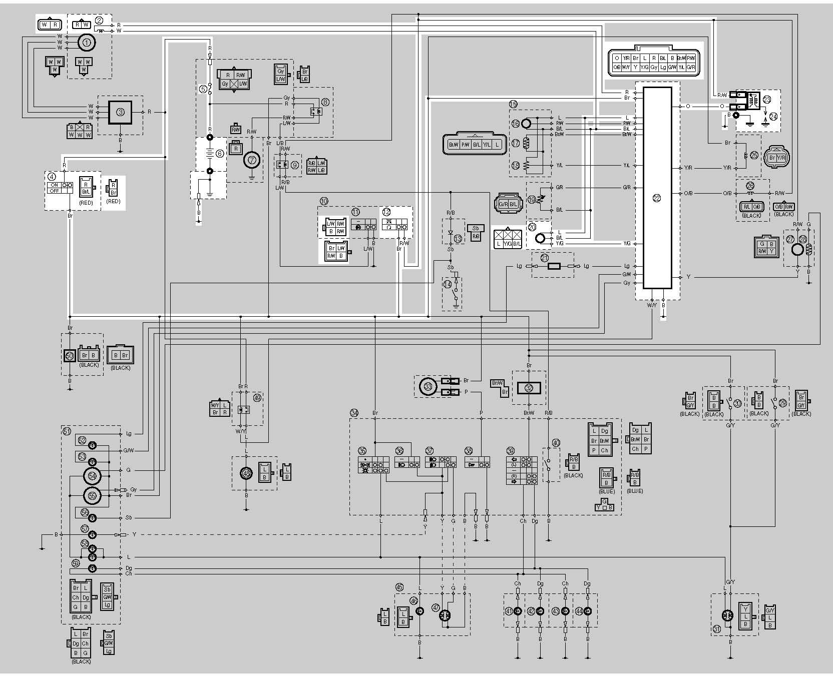 wiring diagram kabel body scorpio
