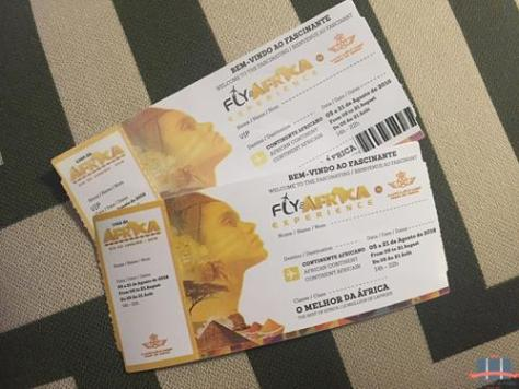 Ticket Fly to Africa