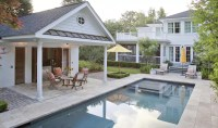 Covered Outdoor Grill Area - Outdoor Designs