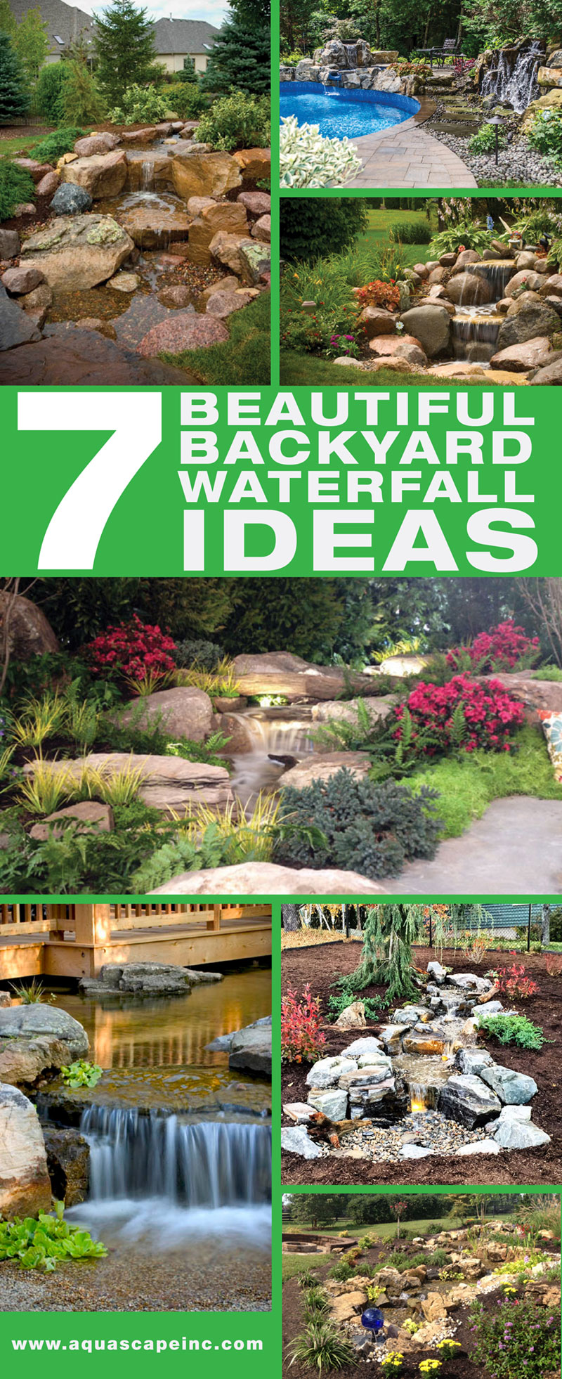 Teal Backyard Waterfall Ideas Backyard Waterfall Ideas Backyard Garden Images Backyard Garden Ideas outdoor Beautiful Backyard Garden