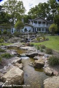 The Ultimate Backyard Waterfall! - Aquascape, Inc.