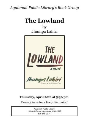 The Lowland (1)