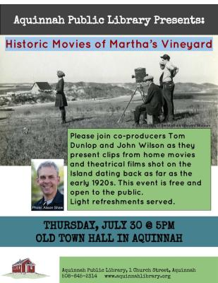 7.30.15 Tom Dunlop - Historic Movies