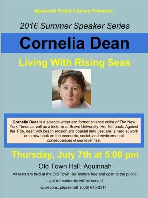 Cornelia Dean