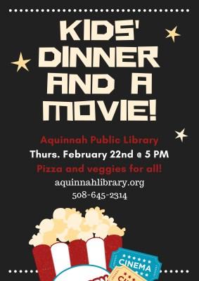 Kids' Dinner & a Movie! 222 (2)
