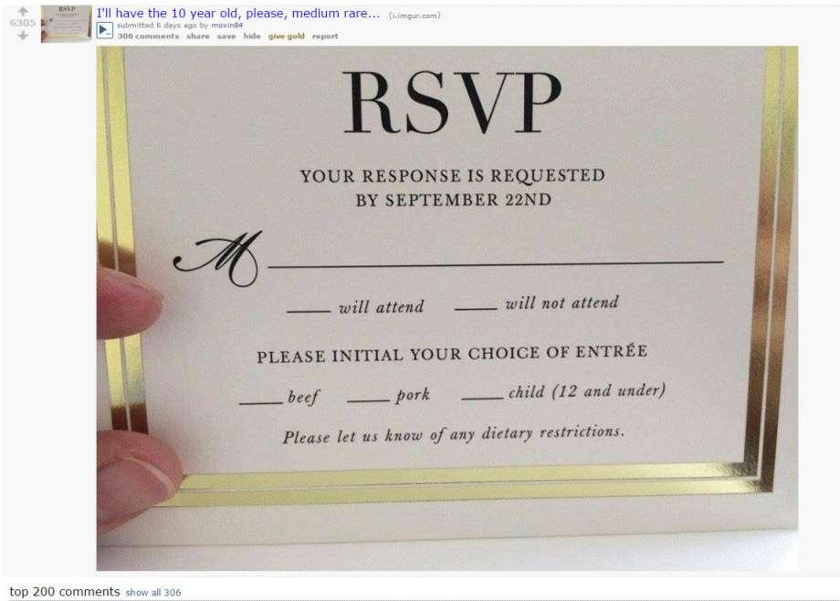 Wedding RSVP Goes Viral - Arabia Weddings