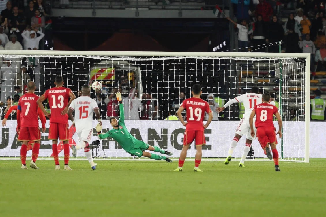 Uae Rescue A Point Against Bahrain Thanks To Controversial