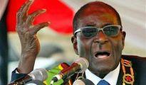 "Adolf Hitler is Donald Trump's grandfather"" Robert Mugabe, the Zimbabwean President"