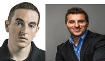 Robert Pera and Brian Chesky two young Biliandeer