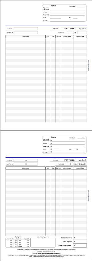 Fattura Microsoft Office Excel