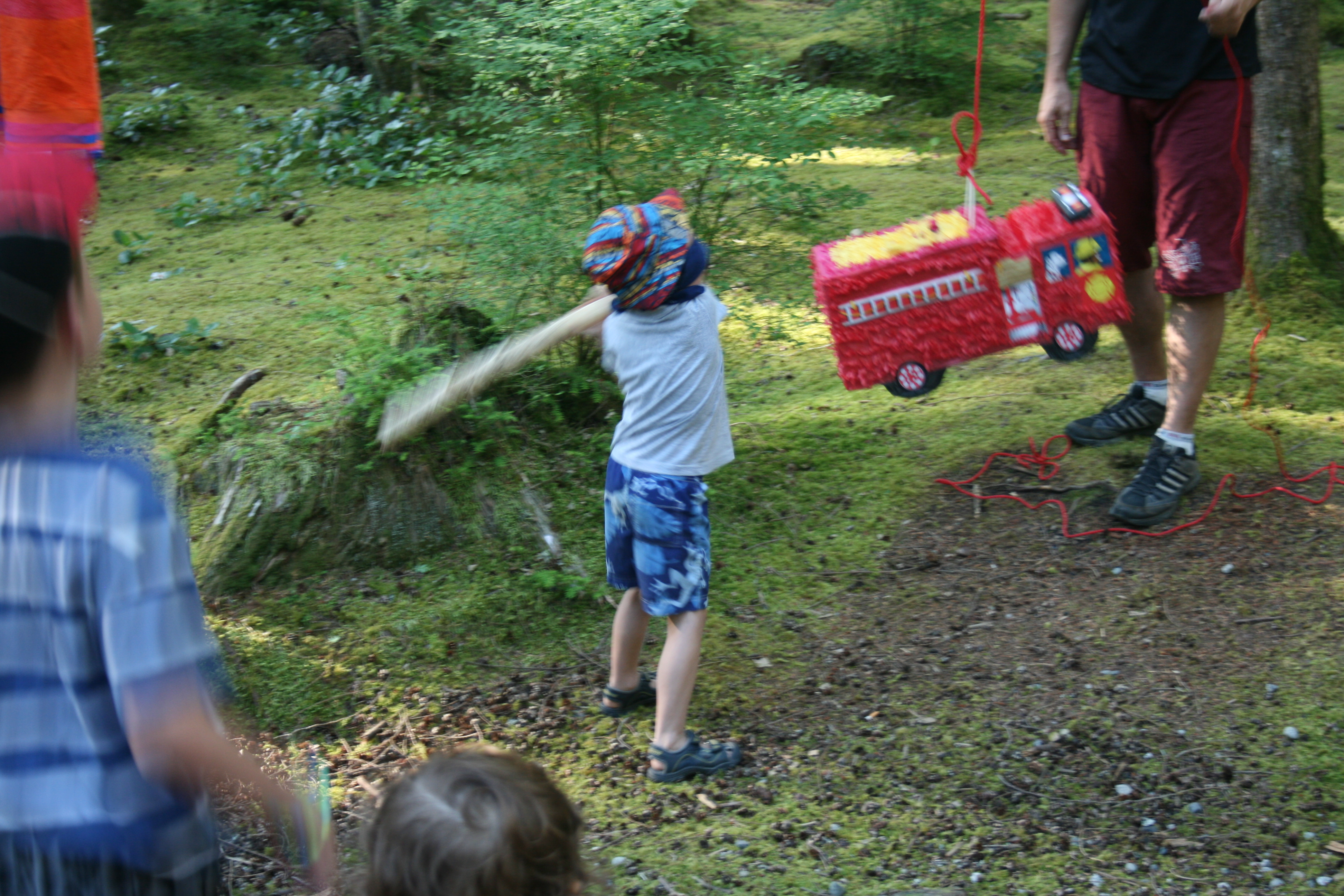 For those times when you can't bring along a giant firetruck piñata, bring along a Camping Toybox!