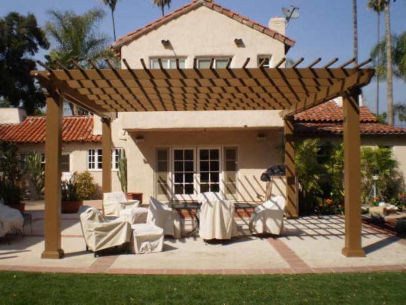 Stand Alone Pergola Designs : Freestanding pergolas gallery arbors direct