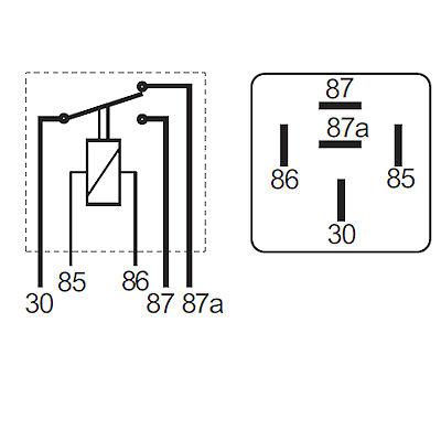 87 87a Relay Wiring Diagram circuit diagram template