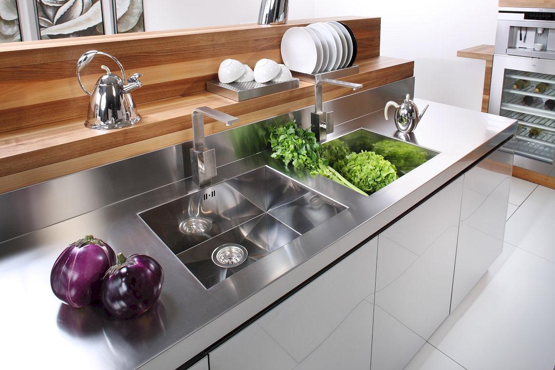 Home arca cucine italia cucine in acciaio inox - Cucine in acciaio per casa ...