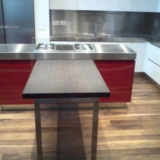 Arca Cucine Italia  – Cucine Domestiche Acciaio Inox – Scatti Clienti – 2013-06-05 09.13.04