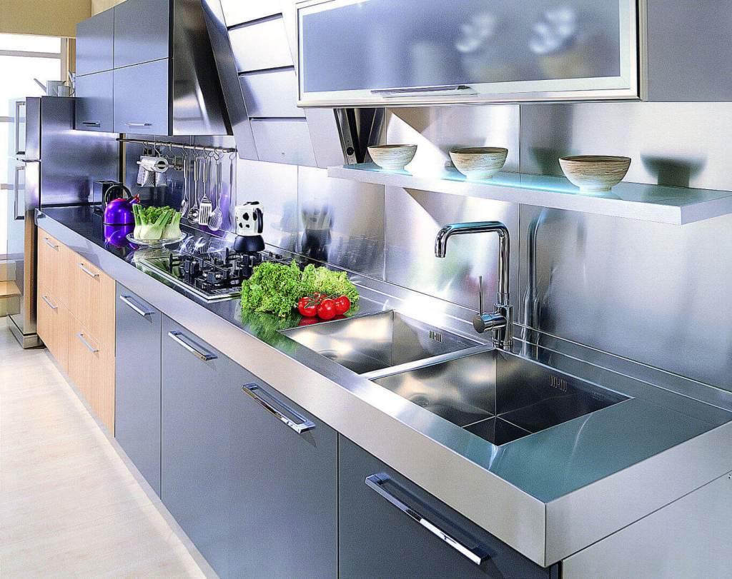 Quadra arca cucine italia cucine in acciaio inox - Cucine in acciaio inox ...