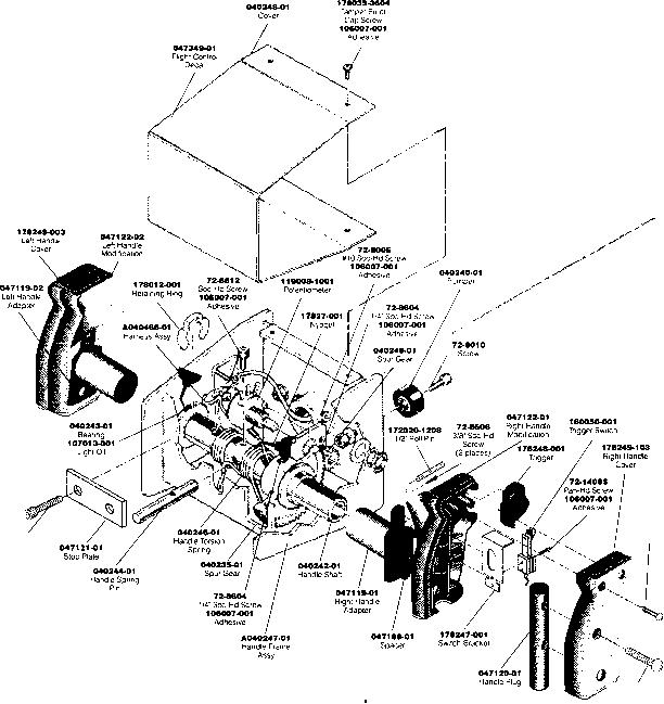galaga wiring harness