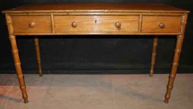 Faux Bamboo Desk Antique Desks
