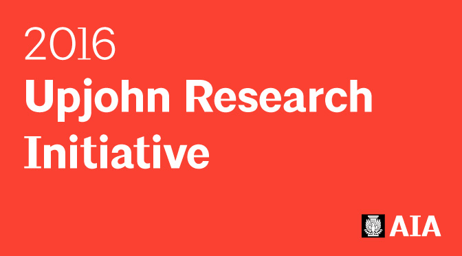2016 AIA Upjohn Research Grant ad
