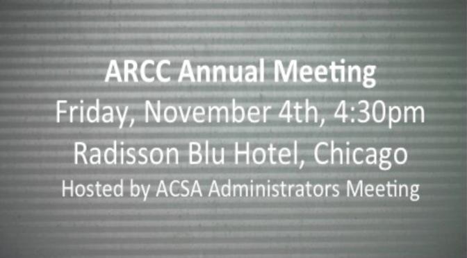 ARCC Annual Meeting