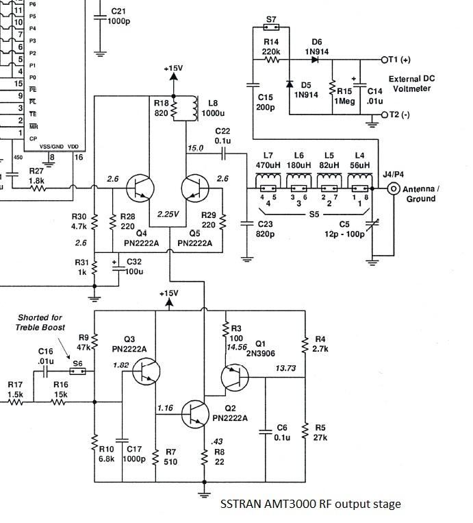 am modulator and 50w rf output stage