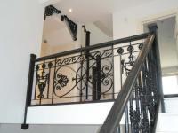 Wrought Iron Staircase Railings - Arc Fabrications