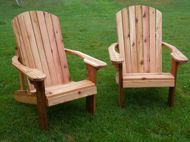 Cedar Adirondack Chairs James Archer Furniture