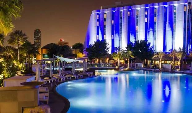 3d Effect Wallpaper For Living Room Lithos Design At The New Ritz Carlton In Bahrain Archi