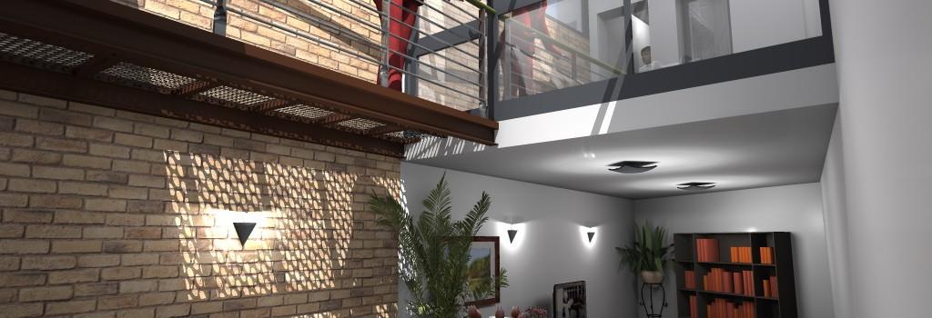 ARCHI2 AMÉNAGEMENT INTERIEUR D\u0027UNE MAISON DE VILLAGE - Amenagement De La Maison