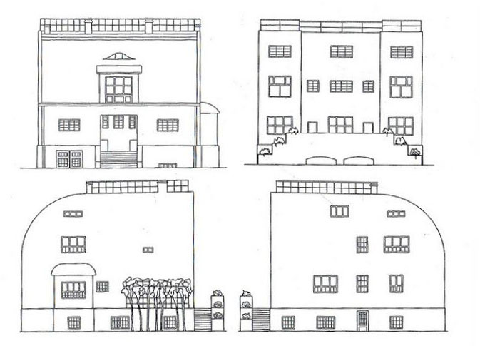 Σχετική εικόνα steiner house Pinterest House - plan d interieur de maison