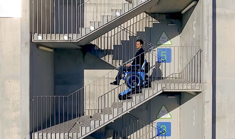 Scewo The 21st Century Electric Wheelchair Can Smoothly