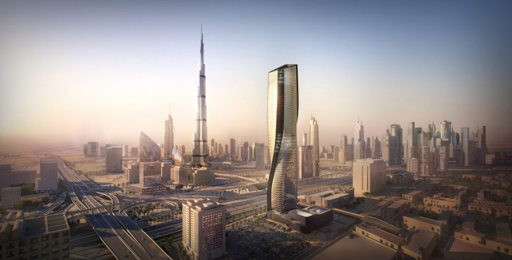 Car Curvy Road Wallpaper Wasl Tower By Unstudio Archiscene Your Daily