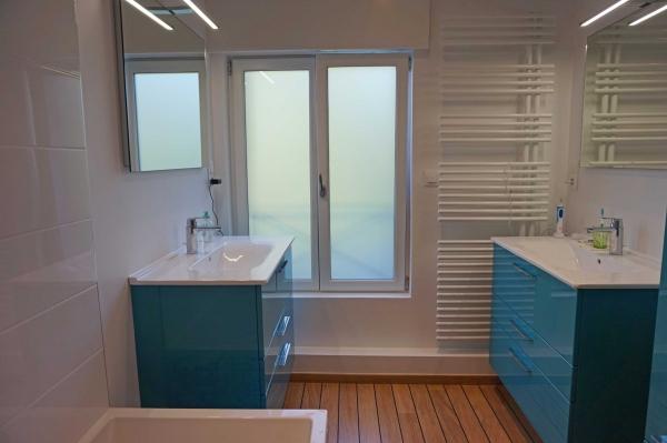 Salle de bain Bordeaux  La vie en Bleu - Archithemeco